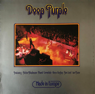Deep Purple - Made In Europe (LP) (VG-/G+)